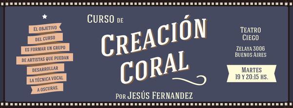 Creación Coral A Ciegas
